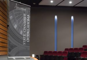 State Chamber of Oklahoma Pop Up Banner Design