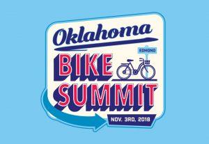 Oklahoma Bike Summit graphic logo designed by Hester Designs