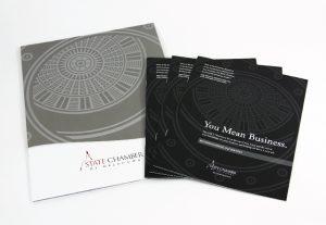 State Chamber of Oklahoma Brochure Design