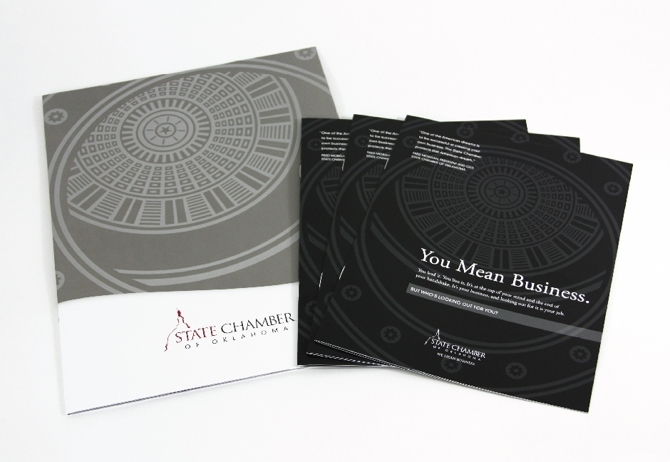 State Chamber of Oklahoma Brochure Design