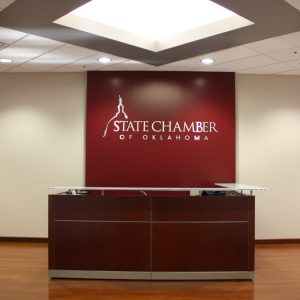 State Chamber of Oklahoma Interior Design