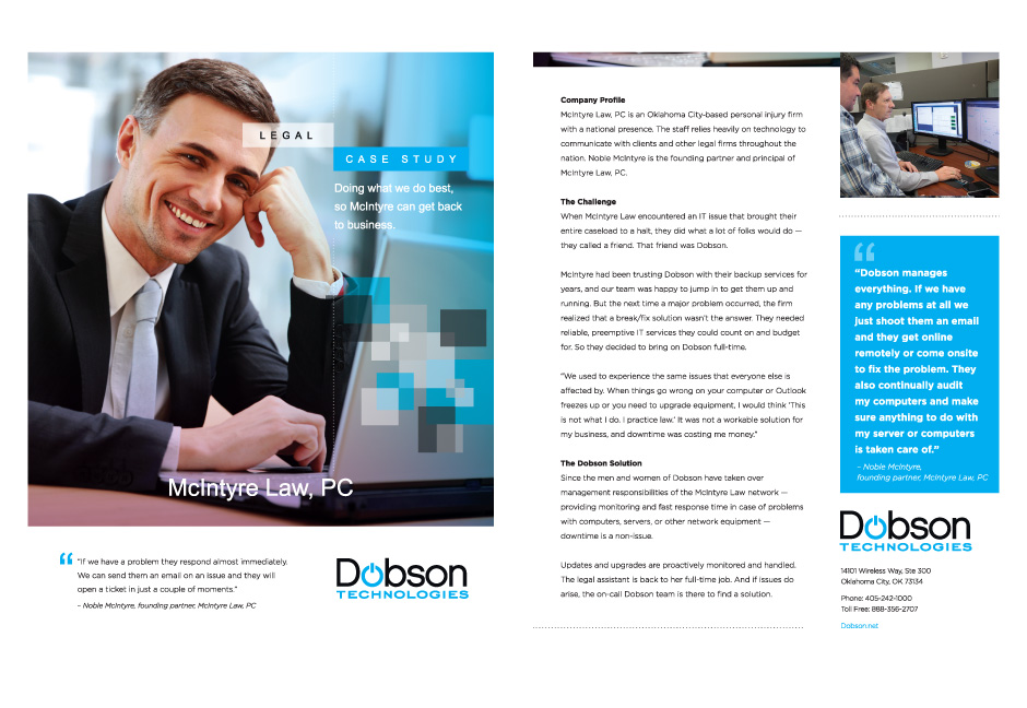 dobson technologies case study example