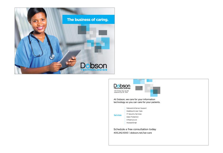 dobson technologies postcard example