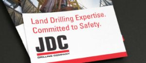 Hester Designs creates beautifully printed flyers for JDC drilling