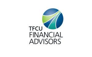 TFCU Financial Advisor logo design by Hester Designs