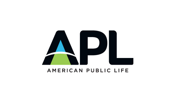 APL American Public Life logo design by Hester Designs