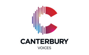 Canterbury Voices logo design by Hester Designs