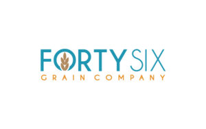 Forty Six Grain logo design by Hester Designs