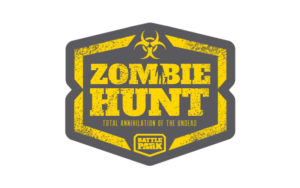 Zombie Hunt logo design by Hester Designs