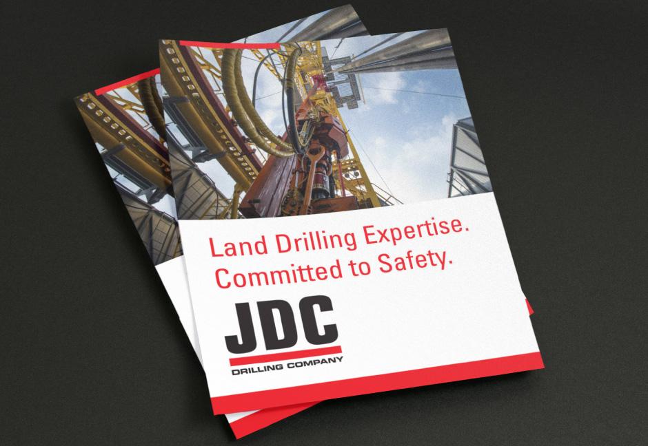 JDC Drilling Rig Fleet Brochure designed by Hester Designs