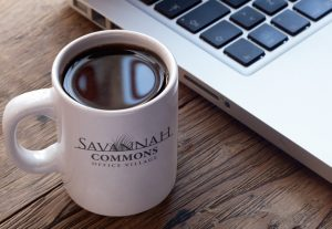 Savannah Commons Logo Coffee Mug
