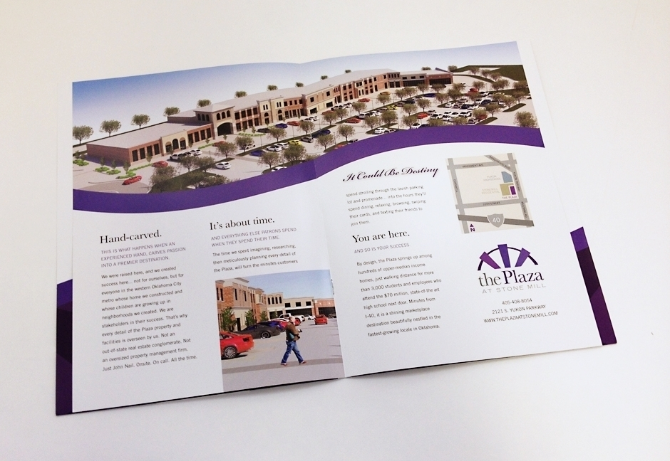 The Plaza at Stone Mill Brochure interior