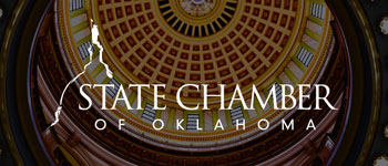 Oklahoma STate Chamber Logo designed by Hester Designs