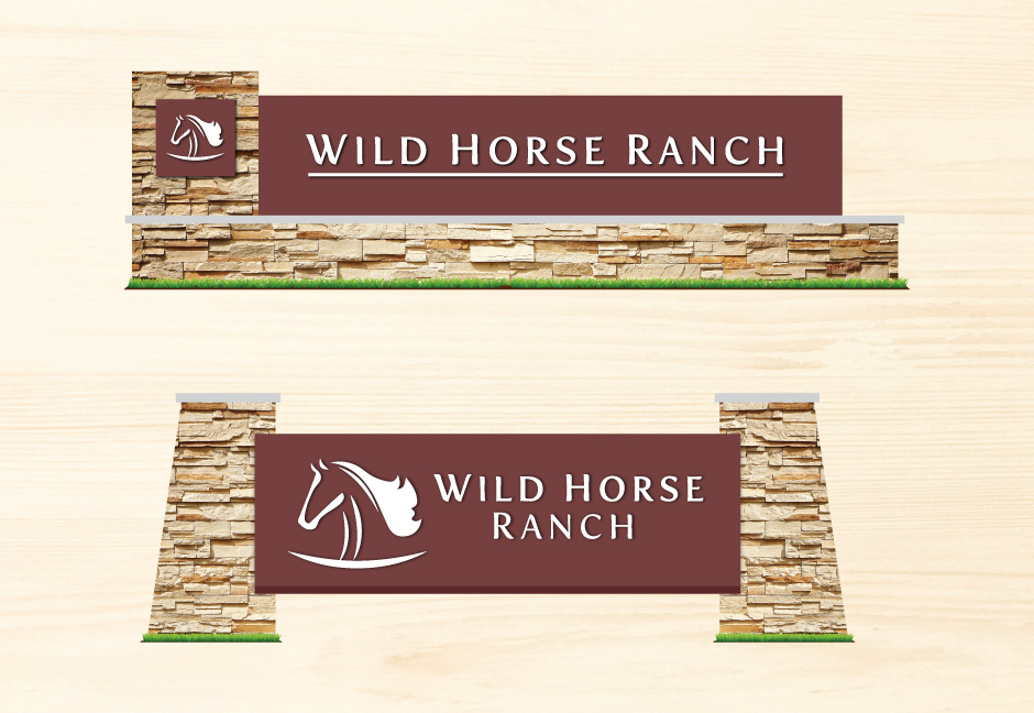 Wild Horse Ranch Signage